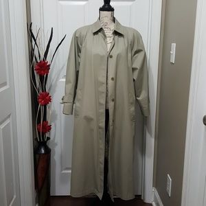 London Fog Womans Casual Career Trench Coat